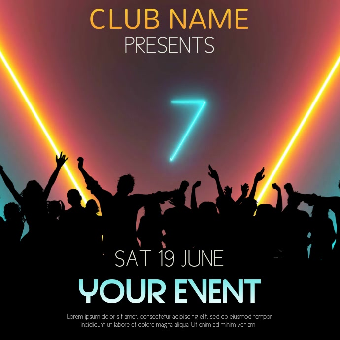 Club Event Party Video Template
