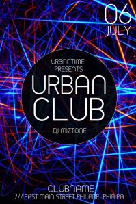 Club Flyer Background Templates Tileco