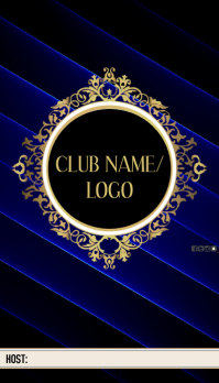 CLUB HOST CARD