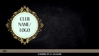 CLUB HOST CARD