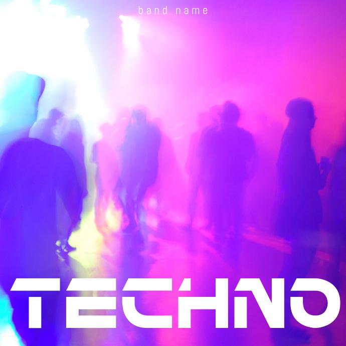 Club Mix Album Cover Template