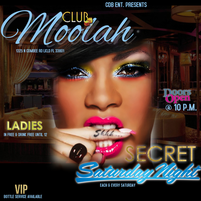 CLUB FLYER NIGHT LIFE