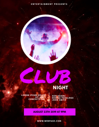 Club Night Party Flyer Template
