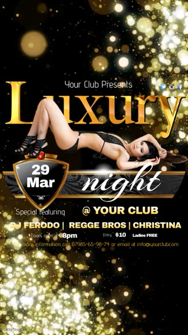 Club Night Template