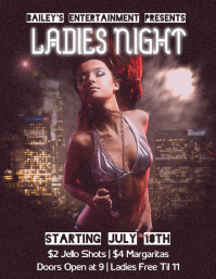 Club Night Party Promotional Flyer