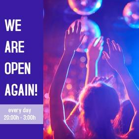 Club Open Again
