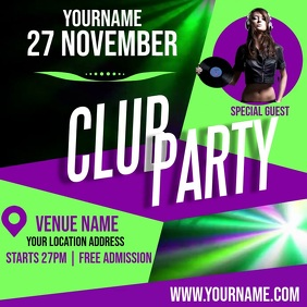 CLUB PARTY AD TEMPLATE Logo