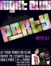 CLUB PARTY EVENT DIGITAL