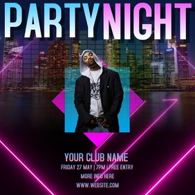 CLUB PARTY EVENT DIGITAL VIDEO AD
