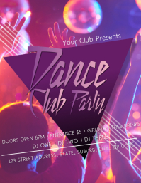 Club Party Event Flyer Template