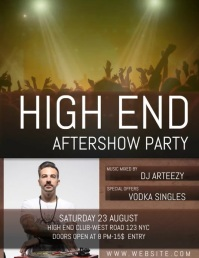 CLUB PARTY EVENT FLYER TEMPLATE digital
