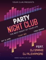 party flyer background templates