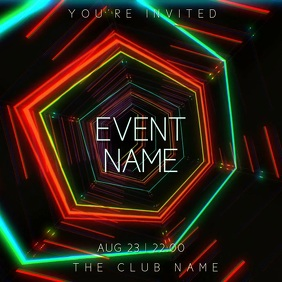 Club Party Night Event Video Template