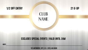 CLUB PASS Visitenkarte template