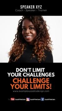 Coach Speaker Quotes Motivation Message Instagram-verhaal template