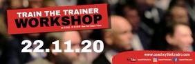 Coach Speaker Workshop Trainer Boss ad Email Header template
