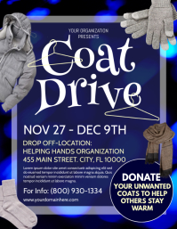 Coat Drive Flyer (US Letter) template