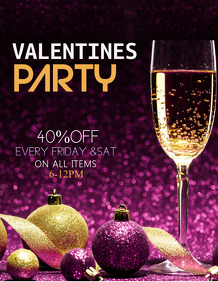 Cocktail flyers templates,valentines flyers,event flyers