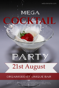 Cocktail Party Template