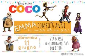 Coco Birthday Invitation
