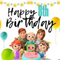 Cocomelon Online Birthday Greeting 2