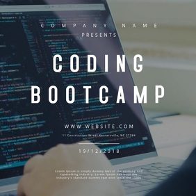 Coding Bootcamp Motion Poster