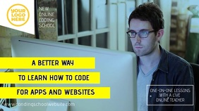Coding Online Learning School Video