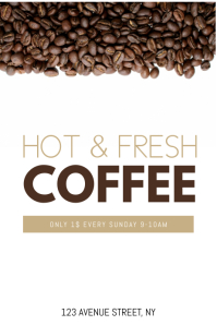 Coffe Flyer TEmplate