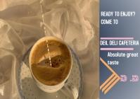 Coffee advert template