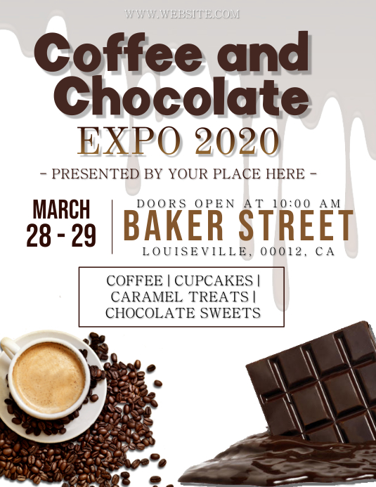 Coffee and Chocolate Expo Event Template