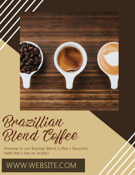 Coffee Bar Flyer Template