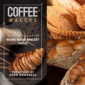 Coffee Bar Instagram Video Template