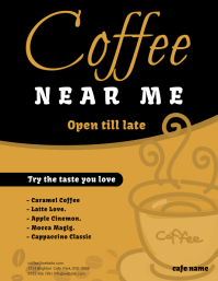 coffee cafe flyer