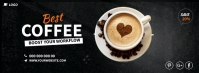 Coffee Cover Ads Couverture Facebook template