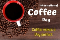 Coffee Day Etiket template