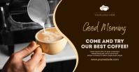 coffee Изображение, которым поделились на Facebook template