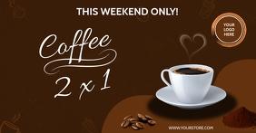 COFFEE Facebook-Anzeige template