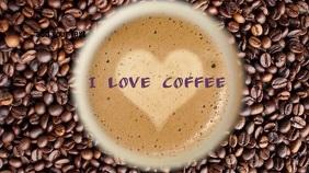 Coffee 数字显示屏 (16:9) template