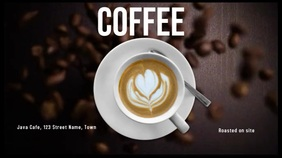 Coffee Display digitale (16:9) template