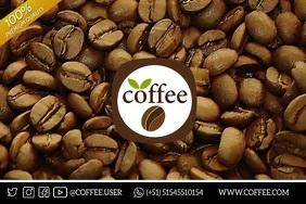 COFFEE Плакат template