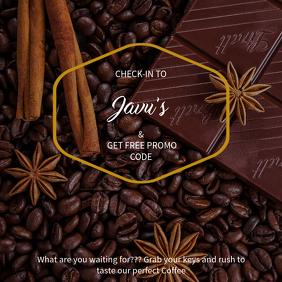 Coffee Discount Instagram Template