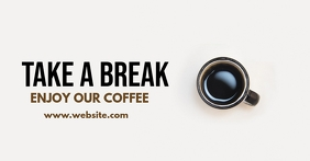 coffee e commerce company business facebook a template