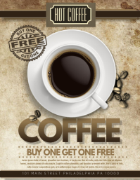 Top 10 New ideas for Coffee Shop promotion - Print ... |New Coffee Shop Flyer