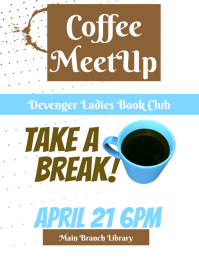 Coffee Group Flyer