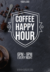 Coffee Happy Hour flyer
