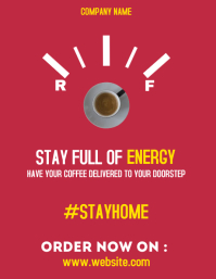 coffee home services delivery design template