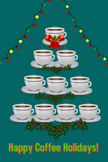 coffee house/cafe/christmas/navidad/menu