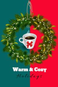 coffee house/cafe/christmas/navidad/menu