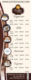 Coffee House Menu Template