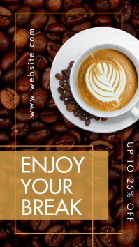 coffee instagram story advertisement coffee b Indaba yaku-Instagram template